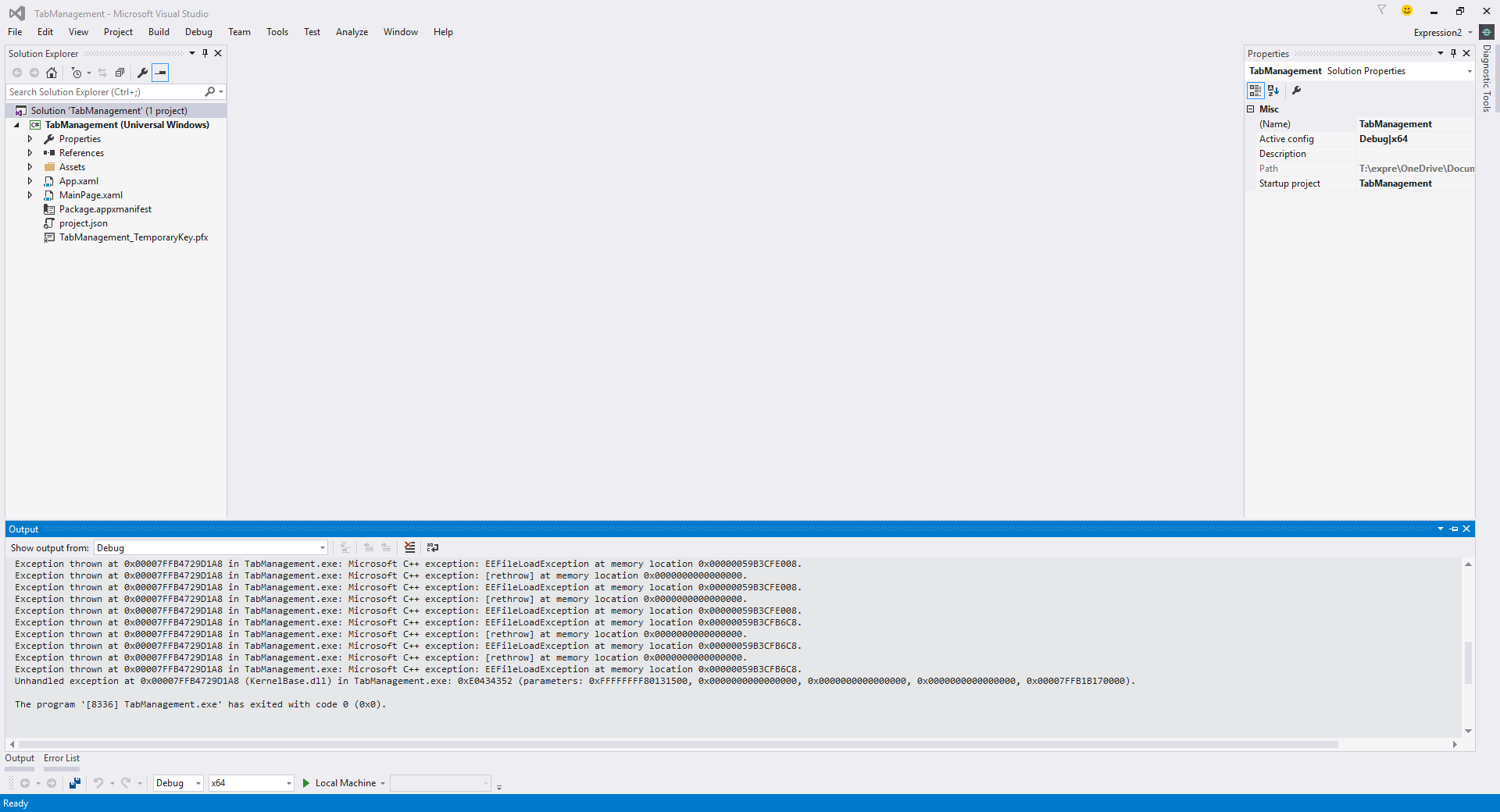 A further look in the Windows Logs, I found this.