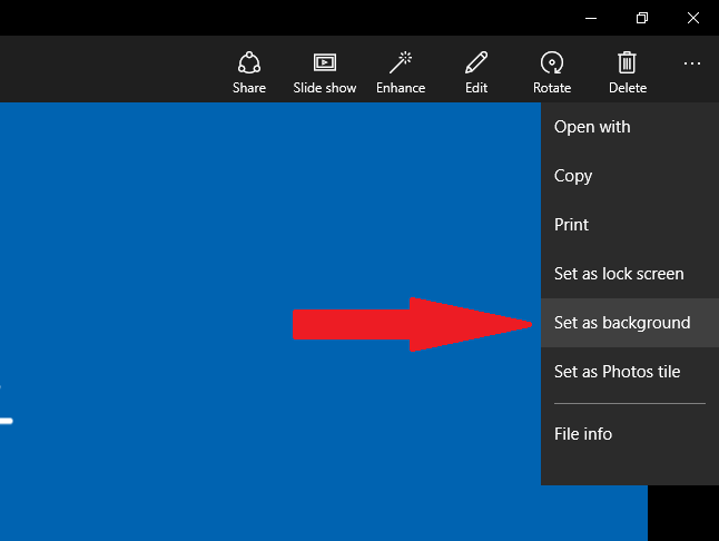 how to change desktop background in windows 10 universal app c