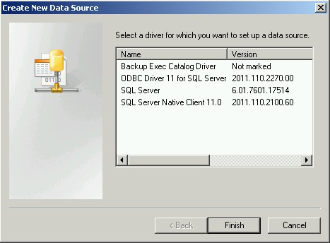 Installing SQL Server Native Client