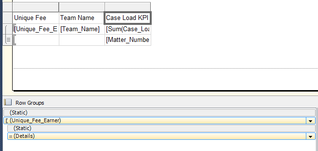Toggle Visibility in columns