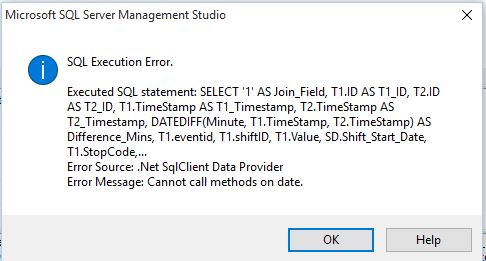 sql query date timestamp