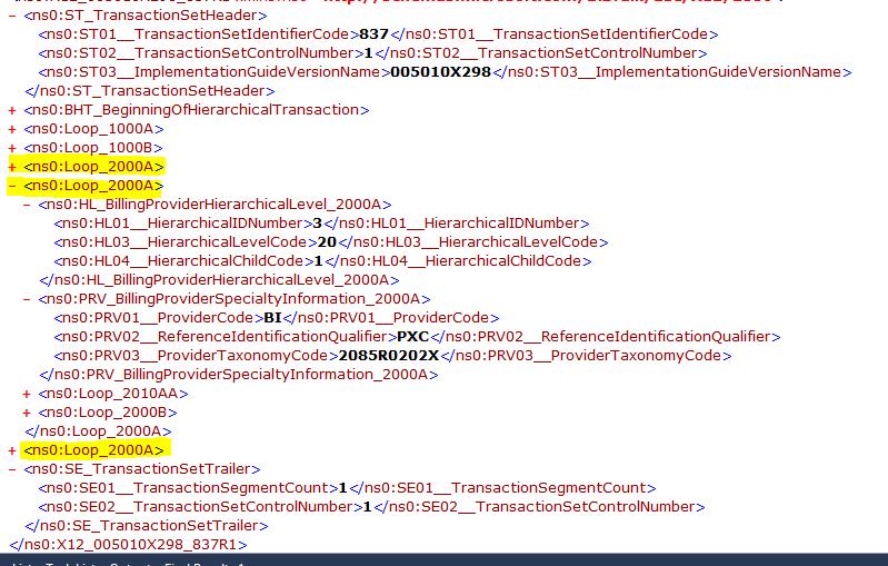 Error Generating X12 file