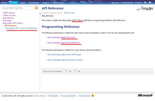 WPF Method Reference