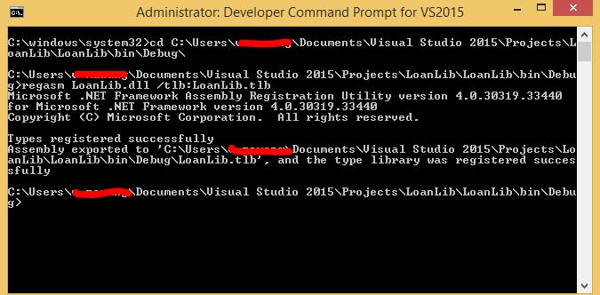 COM Interop Sample: COM Client and  NET Server - COM objects not