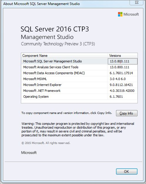 Index was outside the bounds of the array. (Microsoft.SqlServer.Smo) – SQL Server 'Denali'