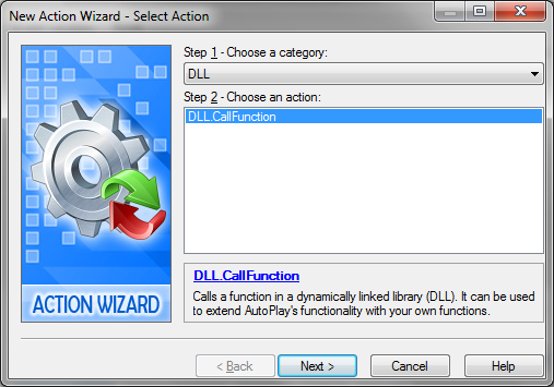 Action Wizard Of AutoPlay Media Studio