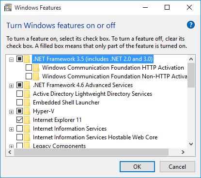 .Net 3.5 features