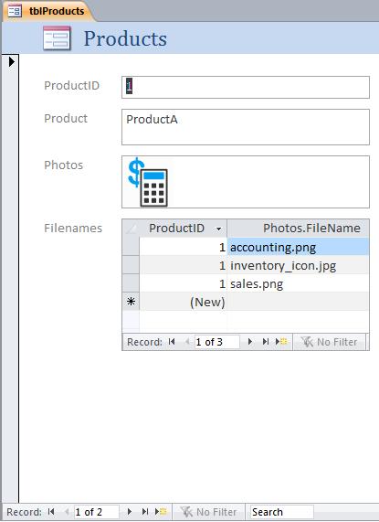 Attachment Field Filenames