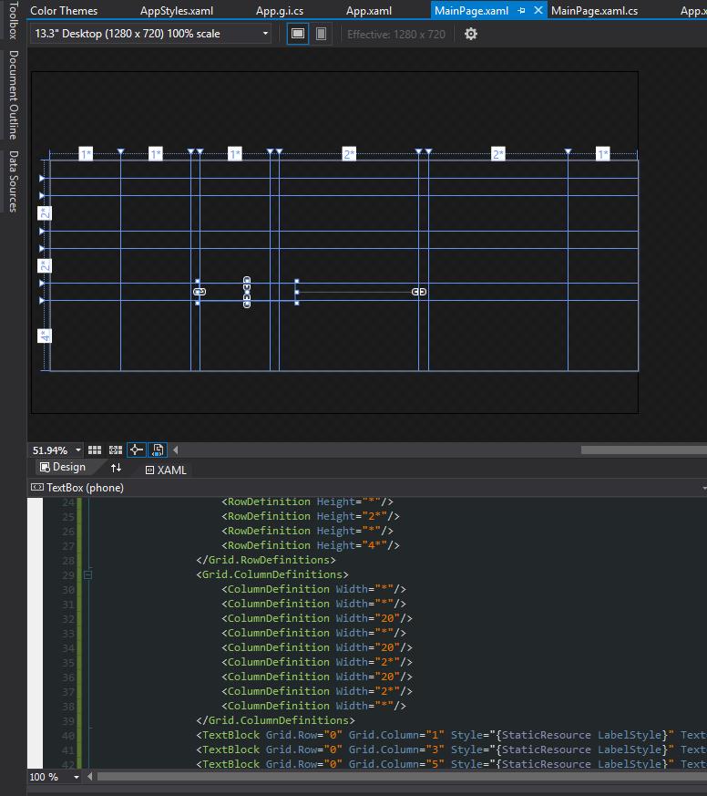 Can't see items in XAML Designer - dark theme (Visual Studio
