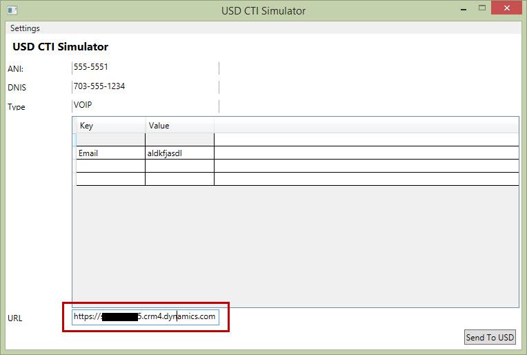 USD CTI Simulator