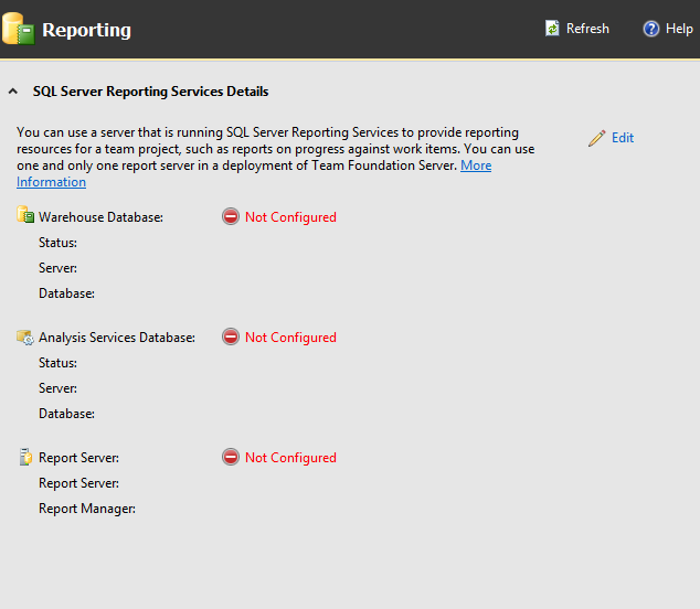 How To Configure Reporting In TFS After Upgrade To 2015