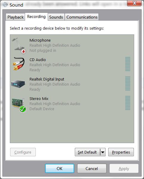 Audio Dialog