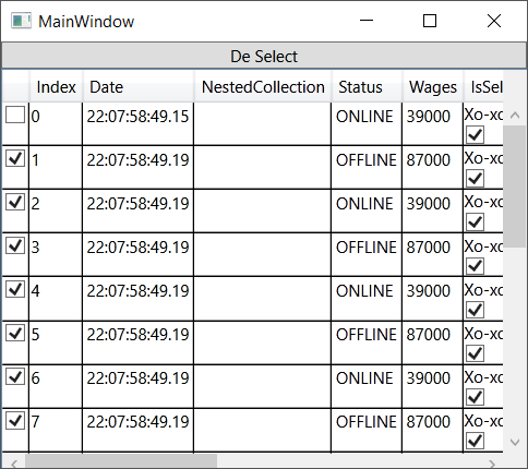 WPF DataGridCheckBox check/uncheck doesn't work well