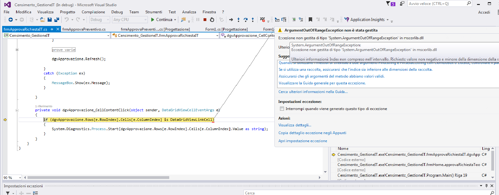 datagridview in c windows application sample