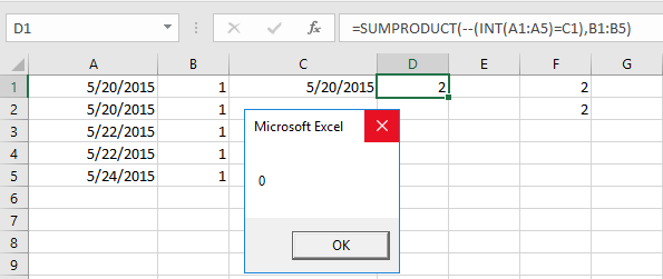 Sumproduct in vba so here i find that the results are different when i use only date in c1 but when i insert only time in c1 then from excel formula and using vba code ibookread Download