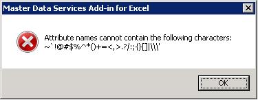 MDS error