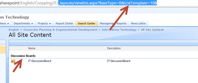 Template URL redirection issue in SharePoint 2013