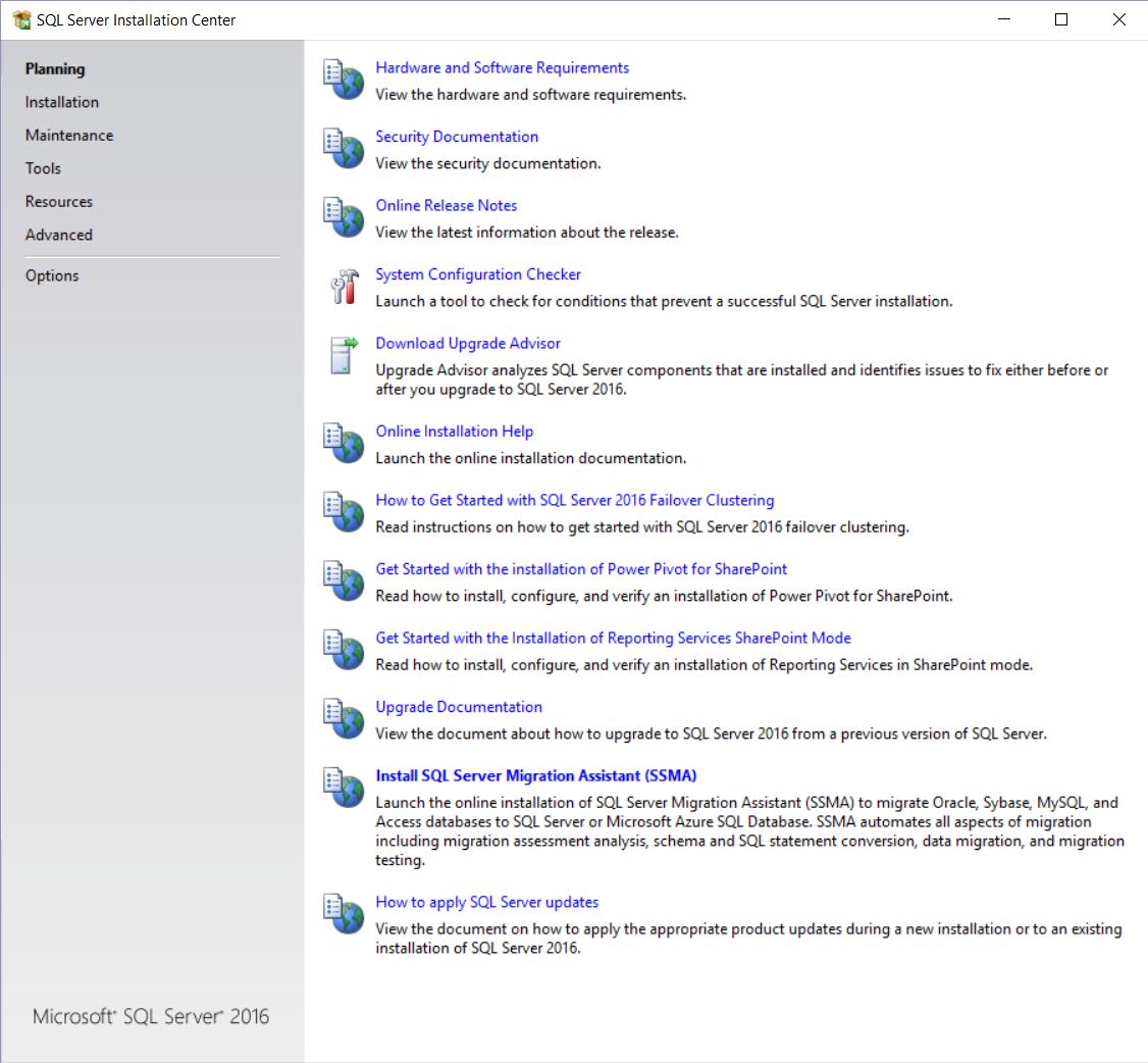 SQL Server Setup & Upgrade forum
