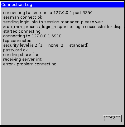 Ubuntu Connection Log