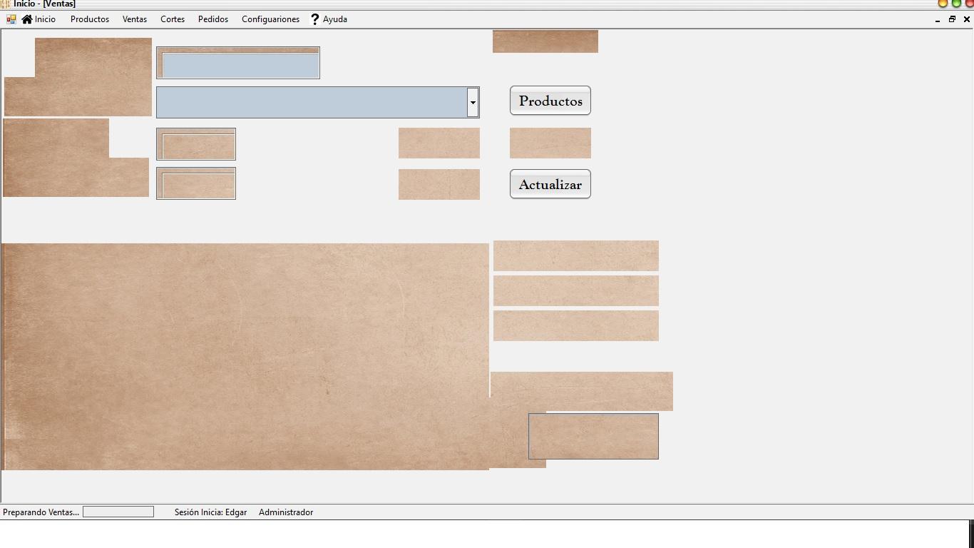 Así es como me muestra la pantalla unas decimas de segundo antes de abrirla por completo...
