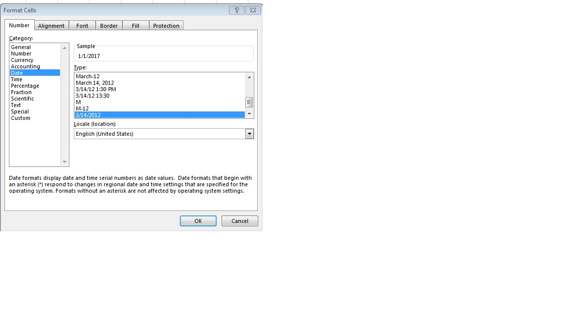 OpenXML Excel Date Formatting