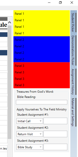 Collapsed Else Yes PanelAssignmentHistoryVisibility VisibilityVisible Make Sure Parent Stack Panel Is Visible PanelExtraFeatures