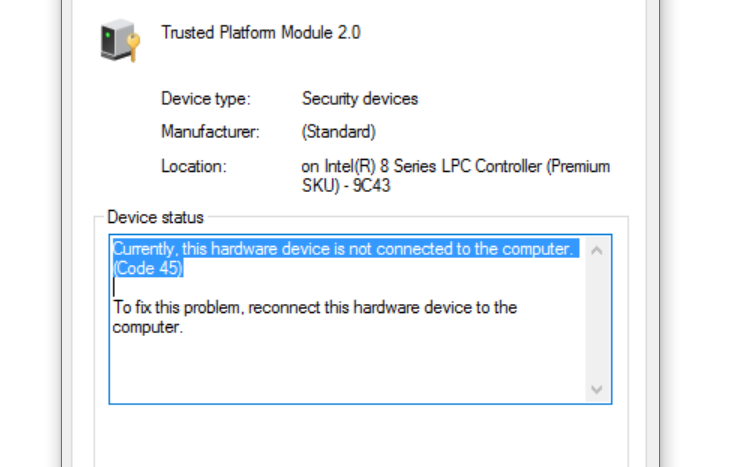 hardware error machine check events logged