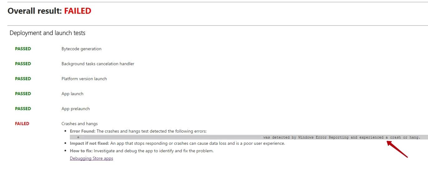Application Doesnt Pass Wackwindows Application Certification Kit