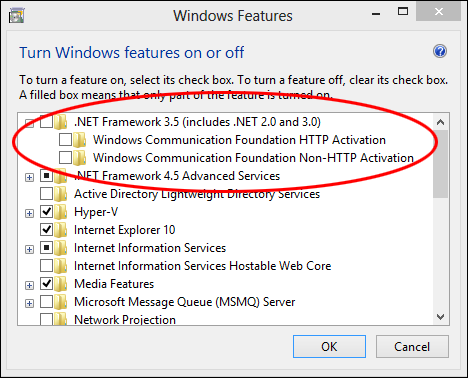 Easy way of offilne installation of dot net framework on windows 8.