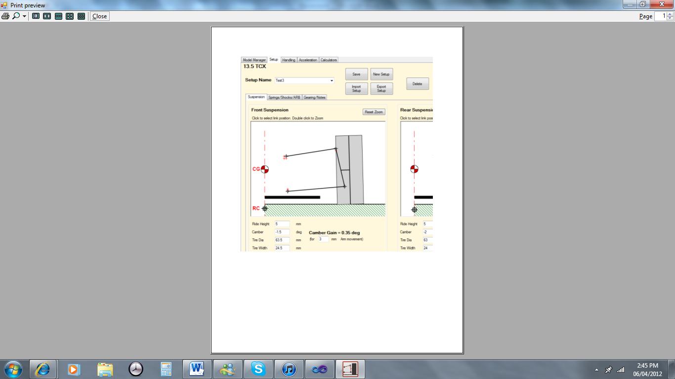 Printform doesn't print entire form width