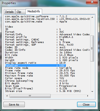 Mediaelement and rotation tag video properties media player classic ccuart Images