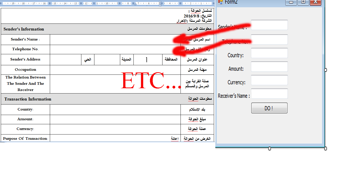 hi friends   i set a button to open a word document   and i need to know how can i fill my doc. table by vb2010   LIKE THIS PHOTO