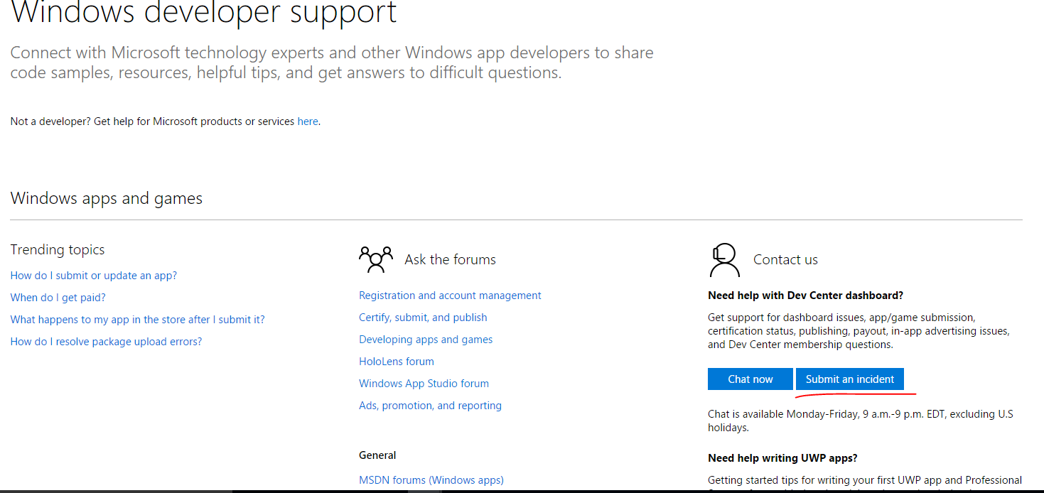 Problem with windows store certification hope it wil be useful 1betcityfo Images