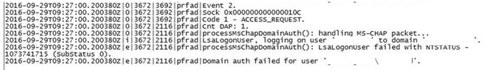 Azure MFA server as Radius server for Checkpoint firewall fails