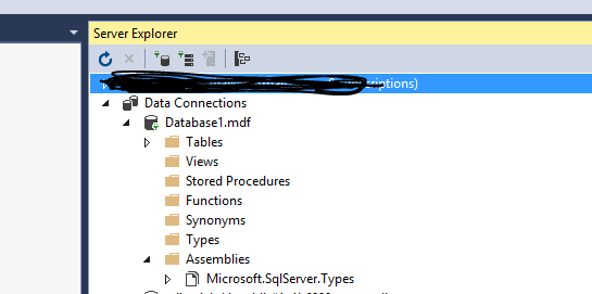 Missing database diagram folder i also test it in my side using vs2015 with update 3 it really has no the database diagram folder ccuart Images