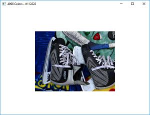 Screen shot of a program 4096 Colors
