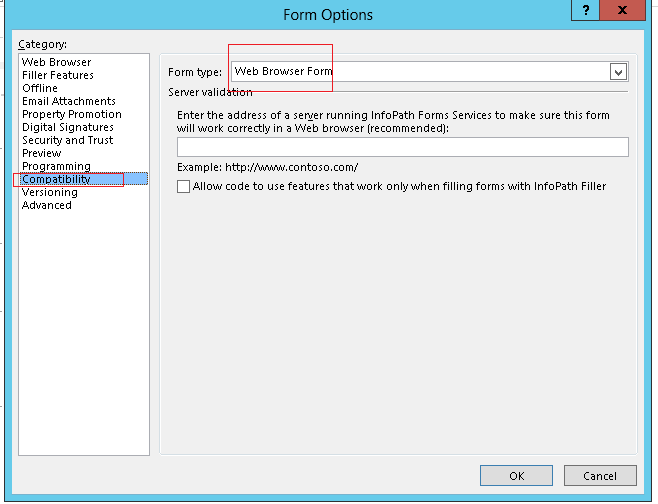 infopath 2013 sqlserver based application  how to open in