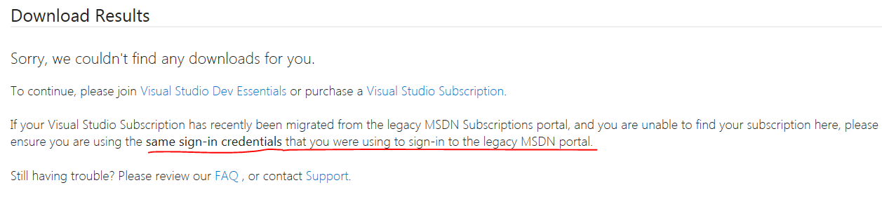 After MSDN account migration to Visual Studio site how do I find my