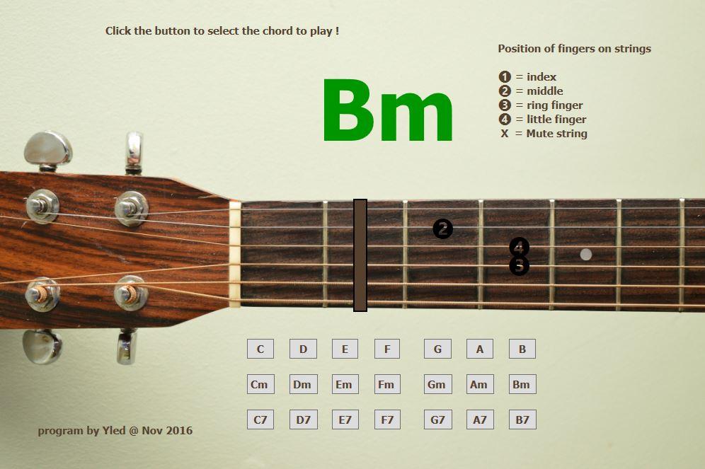 November Challenge Guitar Chords
