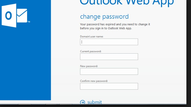 how to change system password