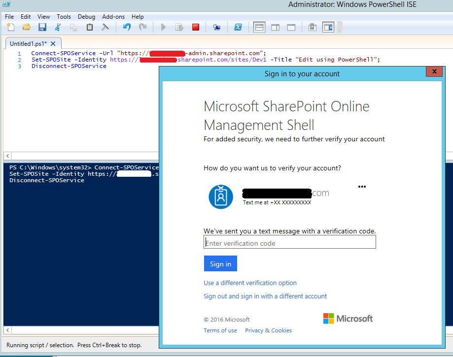 How to run SharePoint PowerShell code from a Windows Console