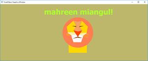 Screen shot of a program Lion by mussamaina