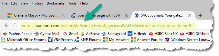 open a web page with VBA