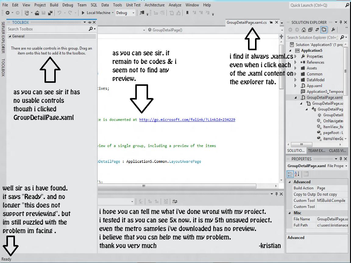 The problem snapshot im facing with Visual Studio 2011 Ultimate Beta