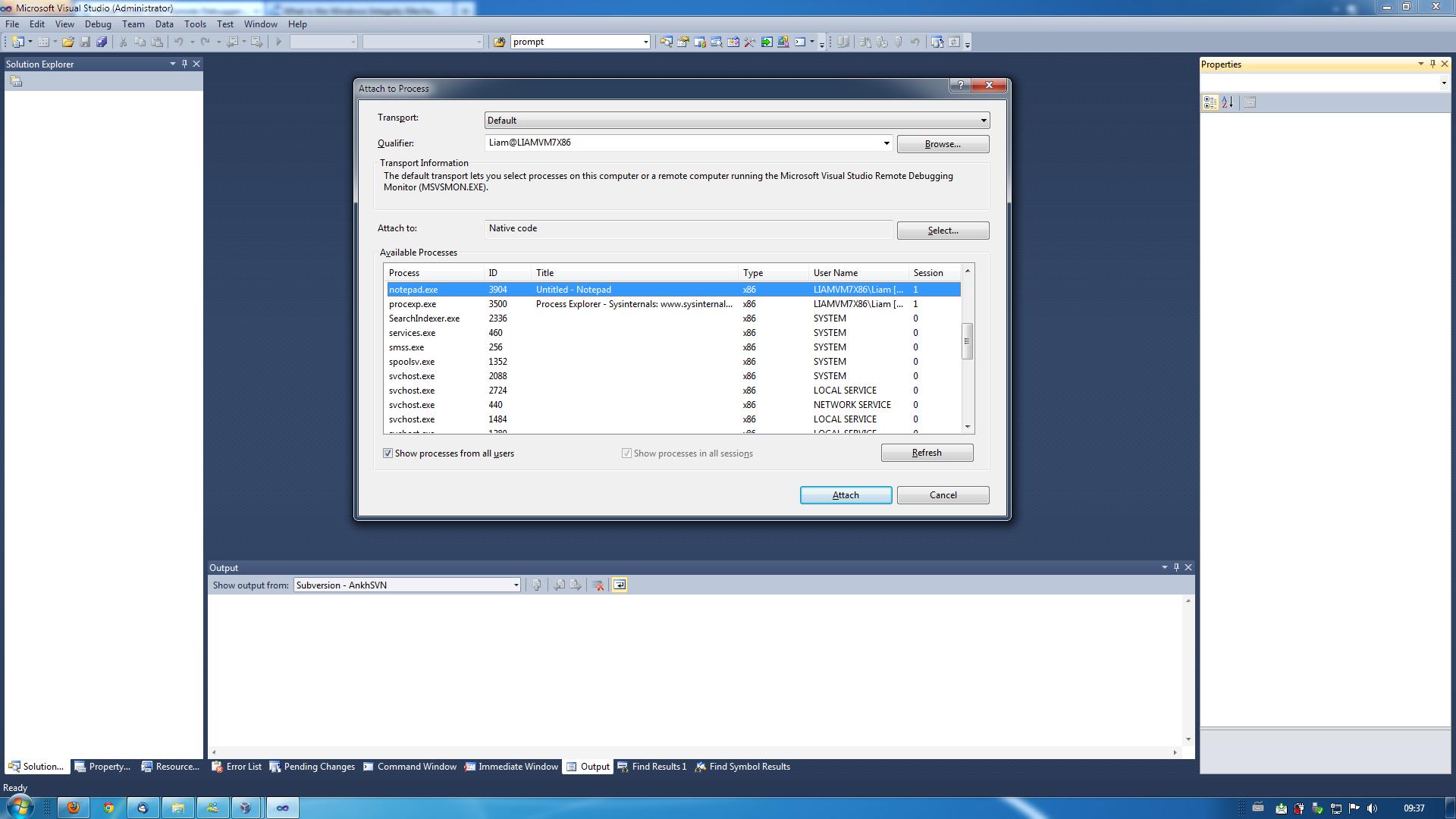 Visual Studio Instance