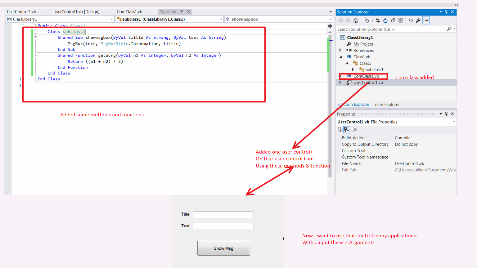 How to create ActiveX Control objects in visual basic 2010 using VB.net