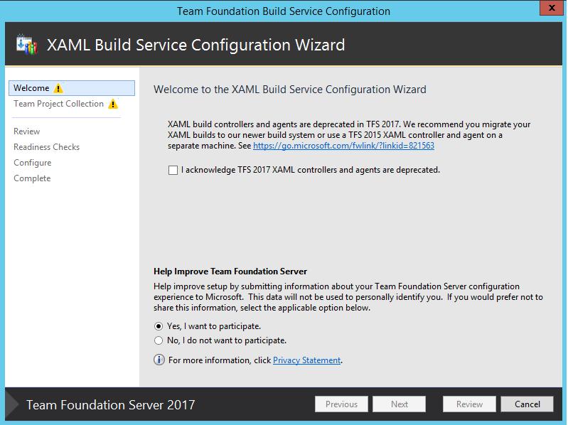 Build Configuration server still running 2013 after I've upgraded